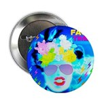 """X-Ray Drag Diva SisterFace 2.25"""" Button"""