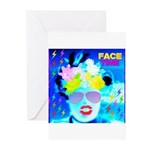 X-Ray Drag Diva SisterFace Greeting Cards (Pk of 1
