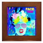 X-Ray Drag Diva SisterFace Framed Tile