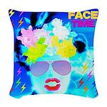 X-Ray Drag Diva SisterFace Woven Throw Pillow