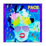 X-Ray Drag Diva SisterFace Tile Coaster