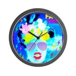 X-Ray Drag Diva SisterFace Wall Clock