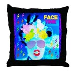 X-Ray Drag Diva SisterFace Throw Pillow