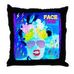 X-Ray Drag Diva SisterFace Throw Pillow