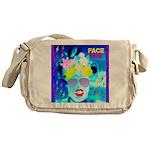 X-Ray Drag Diva SisterFace Messenger Bag