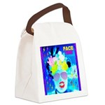 X-Ray Drag Diva SisterFace Canvas Lunch Bag