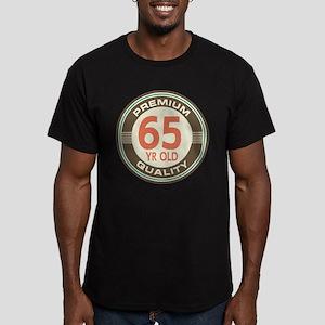65th Birthday Vintage Men's Fitted T-Shirt (dark)