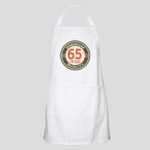 65th Birthday Vintage Apron