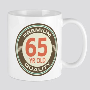 65th Birthday Vintage Mug