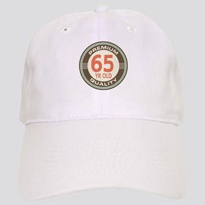 65th Birthday Vintage Cap