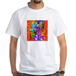 Science Disco Cupid White T-Shirt