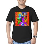 Science Disco Cupid Men's Fitted T-Shirt (dark)