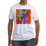 Science Disco Cupid Fitted T-Shirt