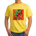 Science Disco Cupid Yellow T-Shirt