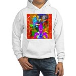Science Disco Cupid Hooded Sweatshirt