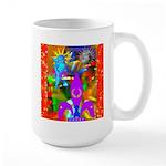 Science Disco Cupid Large Mug