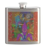 Science Disco Cupid Flask