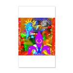 Science Disco Cupid 20x12 Wall Decal