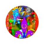 """Science Disco Cupid 3.5"""" Button (100 pack)"""