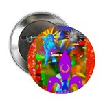 """Science Disco Cupid 2.25"""" Button"""