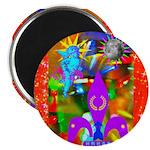 Science Disco Cupid Magnet