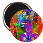 "Science Disco Cupid 2.25"" Magnet (100 pack)"