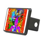 Science Disco Cupid Rectangular Hitch Cover