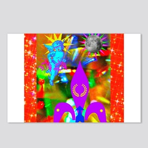 Science Disco Cupid Postcards (Package of 8)