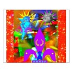 Science Disco Cupid Small Poster