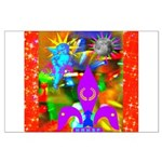 Science Disco Cupid Large Poster
