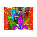 Science Disco Cupid Pillow Case