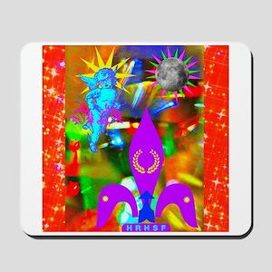 Science Disco Cupid Mousepad