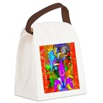 Science Disco Cupid Canvas Lunch Bag