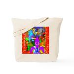 Science Disco Cupid Tote Bag