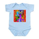 Science Disco Cupid Infant Bodysuit