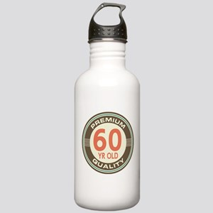 60th Birthday Vintage Stainless Water Bottle 1.0L