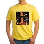 Diva Minister, Music Is My Bible Yellow T-Shirt