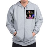 Diva Minister, Music Is My Bible Zip Hoodie