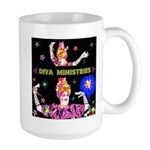Diva Minister, Music Is My Bible Large Mug