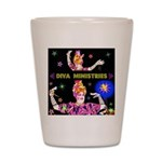 Diva Minister, Music Is My Bible Shot Glass