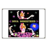 Diva Minister, Music Is My Bible Banner