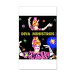 Diva Minister, Music Is My Bible 20x12 Wall Decal