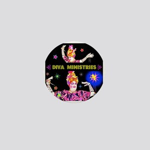 Diva Minister, Music Is My Bible Mini Button