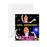 Diva Minister, Music Is My Bible Greeting Card