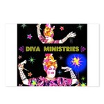 Diva Minister, Music Is My Bible Postcards (Packag