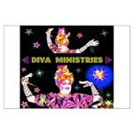 Diva Minister, Music Is My Bible Large Poster