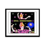 Diva Minister, Music Is My Bible Framed Panel Prin