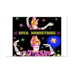 Diva Minister, Music Is My Bible Mini Poster Print