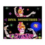 Diva Minister, Music Is My Bible Throw Blanket