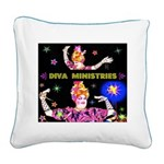 Diva Minister, Music Is My Bible Square Canvas Pil